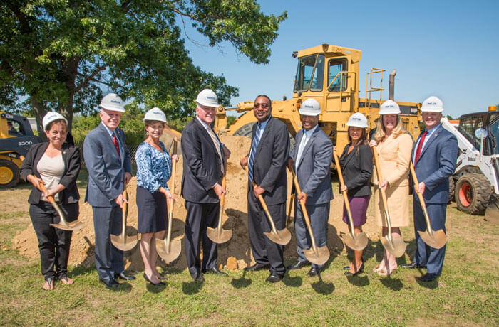 Breaking Ground for Renewable Energy and STEM Center